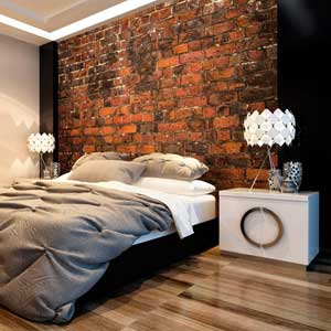 tapete steinoptik steintapete wie optisch wie eine echte steinwand. Black Bedroom Furniture Sets. Home Design Ideas